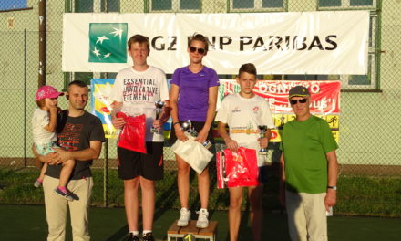 [2016.08.26] VIII Otwarty Turniej Tenisa Amatorów. Dzień pierwszy
