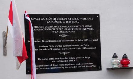 [2016.11.27] Renowacja Miejsca Pamięci Narodowej w Sierpcu