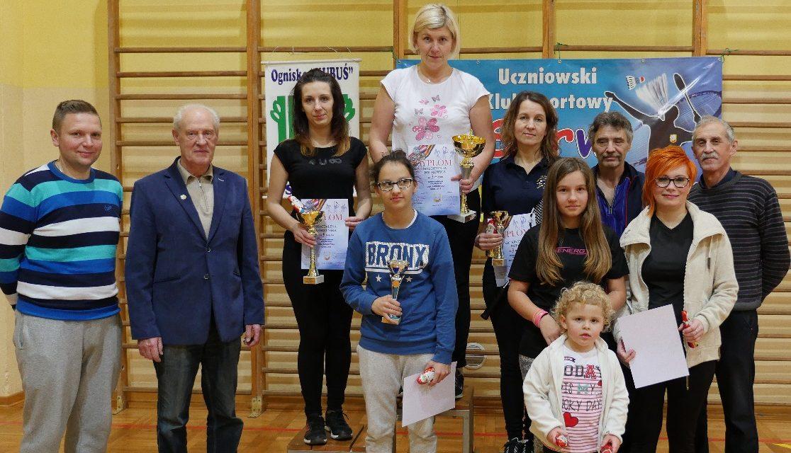 [2016.12.07] Liga Badmintona Kobiet – siódma runda