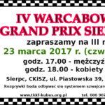 Zapraszamy na III rundę Warcabowego Grand Prix Sierpca