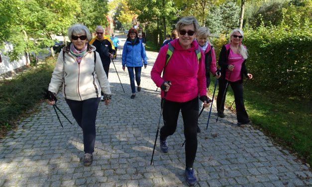 [2017.10.02] Zajęcia nordic walking na skansenie