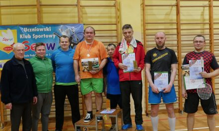 [2017.12.13] Amatorska Liga Badmintona Powiatu Sierpeckiego – ósma runda