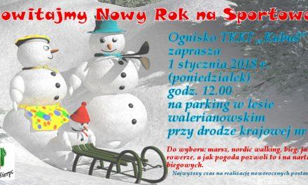 Zapraszamy na powitanie Nowego Roku