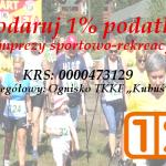 "1% na Ognisko TKKF ""Kubuś"" Sierpc"