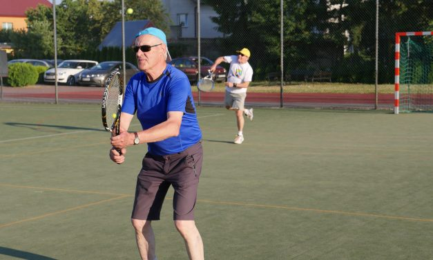 [2018.06.20] Trening tenisowy