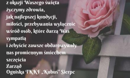 Życzenia z okazji Dnia Kobiet