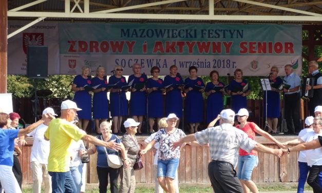 Zapraszamy na Mazowiecki Festyn Zdrowy i Aktywny Senior