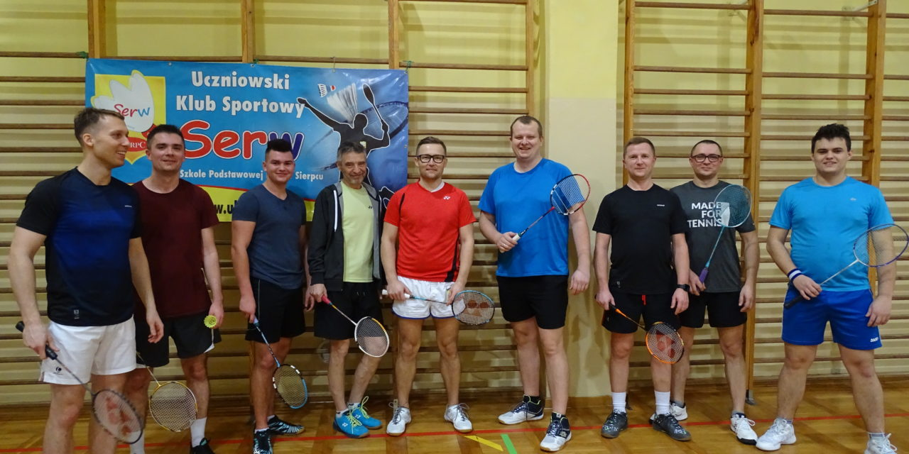 [2020.01.31] Amatorska Liga Badmintona Powiatu Sierpeckiego – V runda