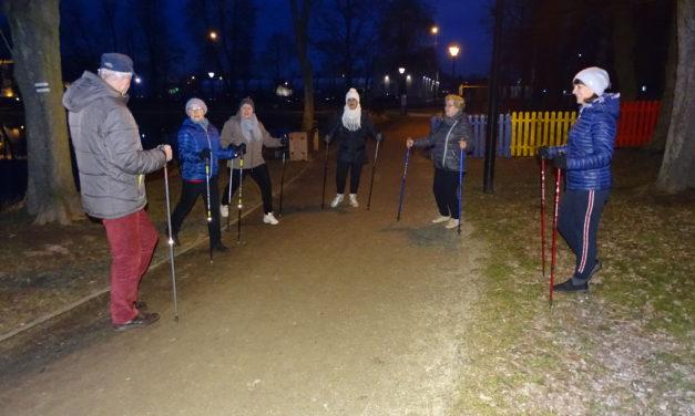 [2020.03.09] Zajęcia nordic walking