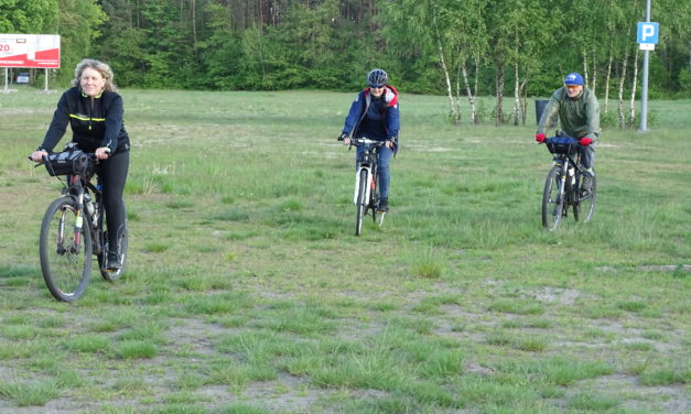 [2020.05.27] Rowerzyści testują trasę crossu