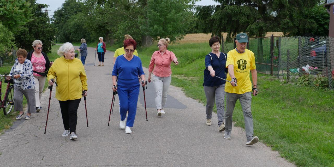 [2020.07.06] Zajęcia nordic walking w gminie Gozdowo