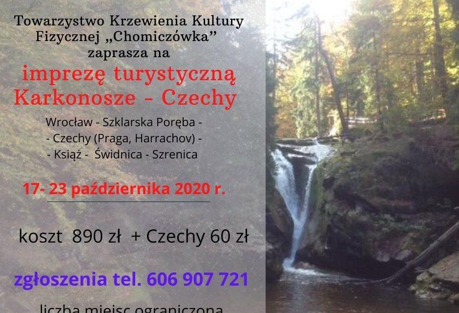 Wycieczka Karkonosze – Czechy