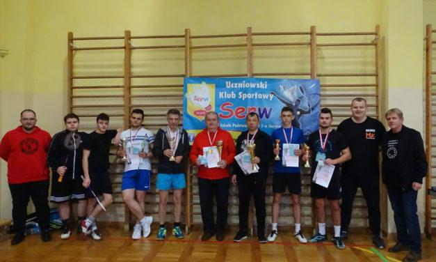 [2020.11.14] Mistrzostwa Sierpca i Powiatu Sierpeckiego w Grze Podwójnej w Badmintona