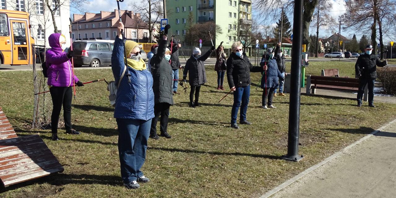 [2021.03.06] Nordic walking nad Jeziórkami