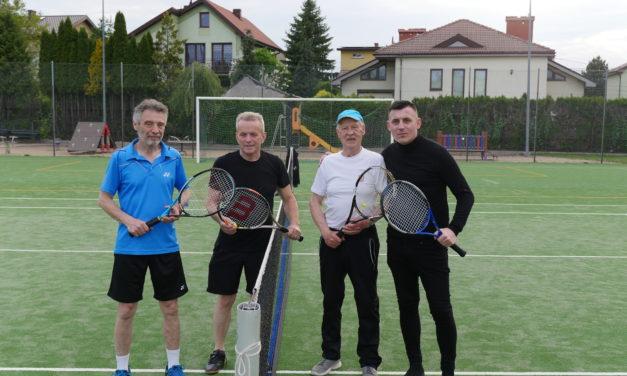 [2021.06.01 Trening tenisowy z udział Maksyma Rzemińskiego